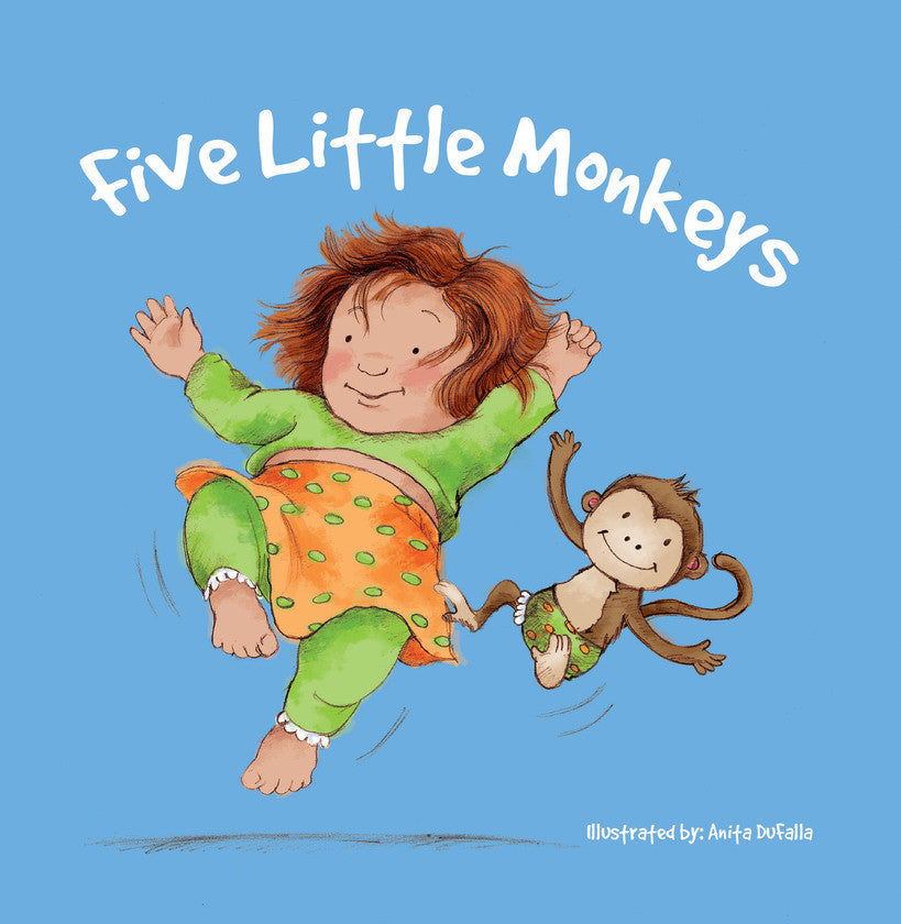 2017 - Five Little Monkeys (eBook)