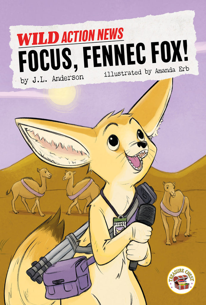 2020 - Focus, Fennec Fox! (eBook)