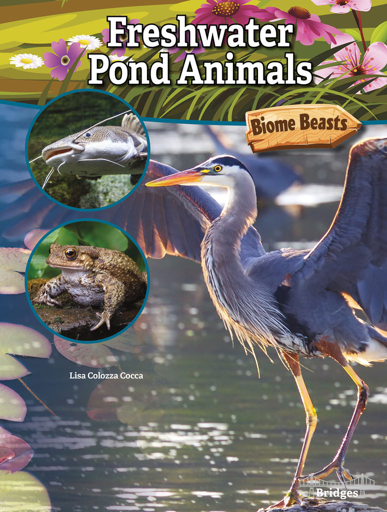 2020 - Freshwater Pond Animals (Hardback)