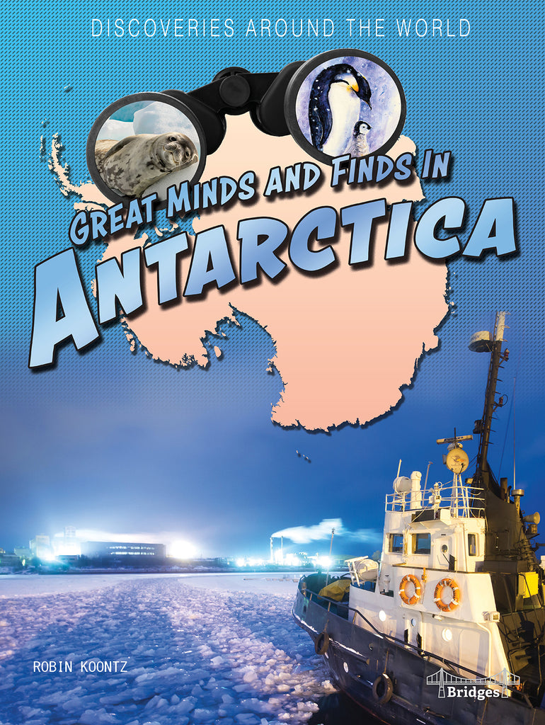 2021 - Great Minds and Finds in Antarctica (Hardback)