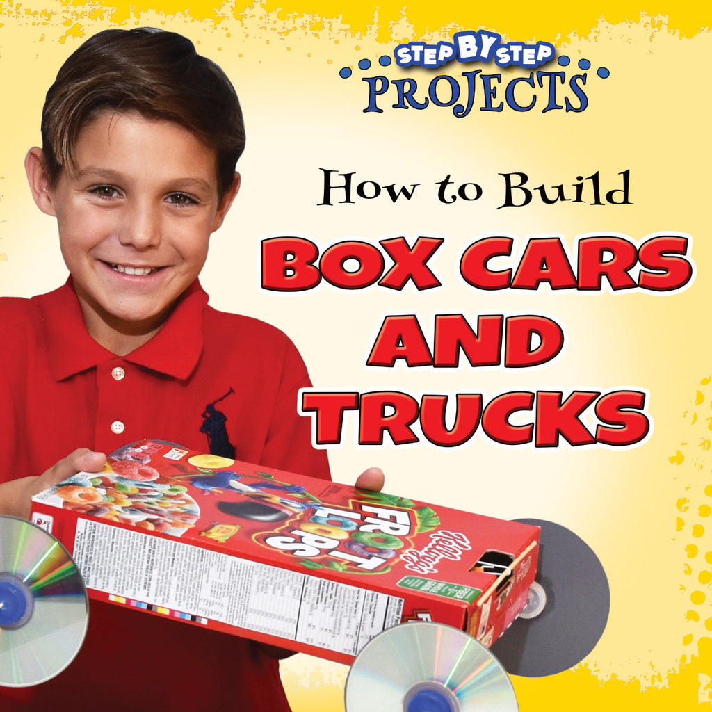 2019 - How to Build Box Cars and Trucks (Hardback)