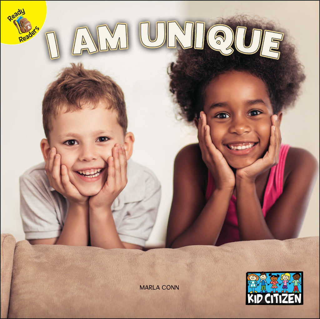 2021 - I Am Unique (Hardback)