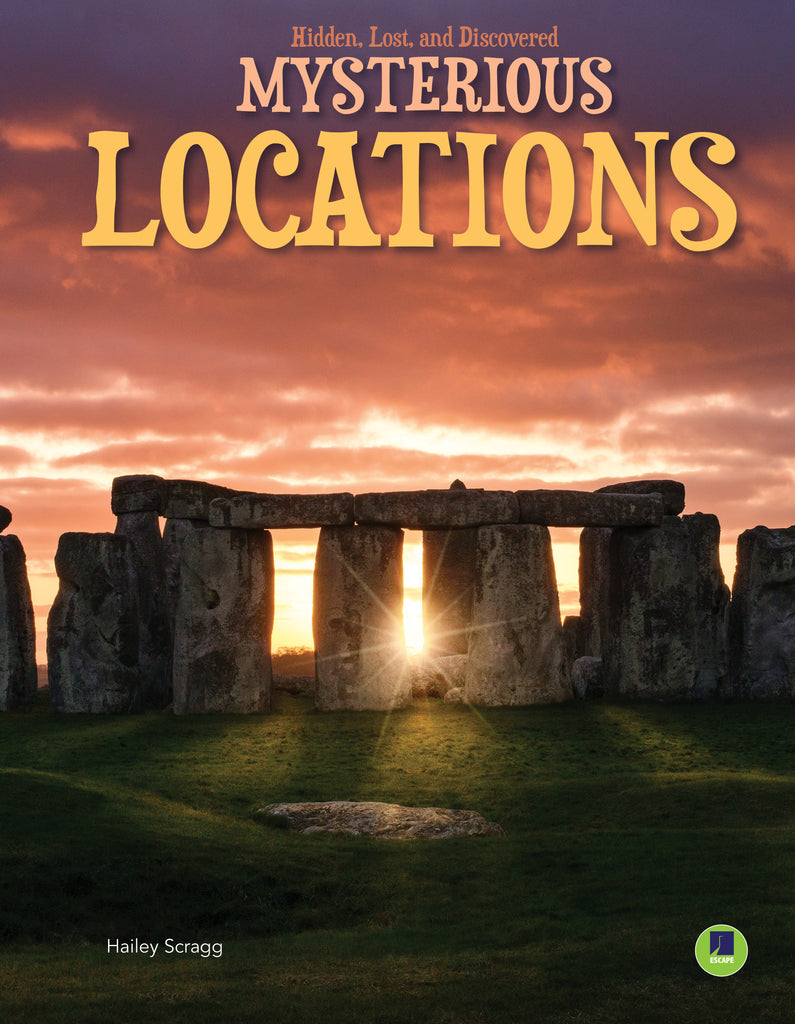 2021 - Mysterious Locations (Hardback)