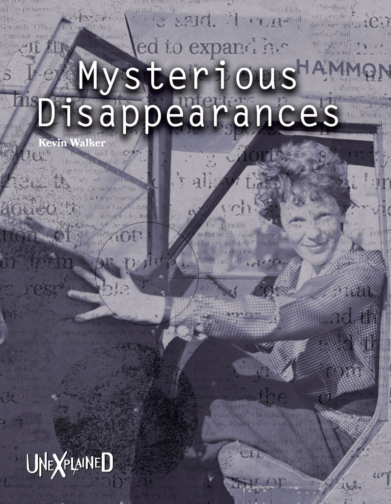 2019 - Mysterious Disappearances (Hardback)