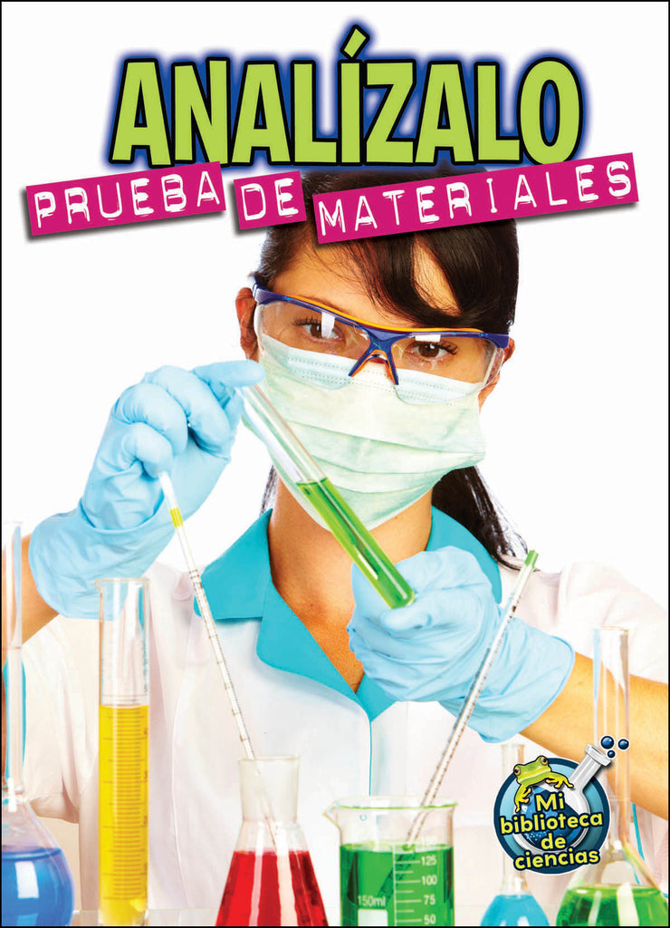 2015 - Analízalo: Prueba de materiales (Analyze This: Testing Materials) (Hardback)