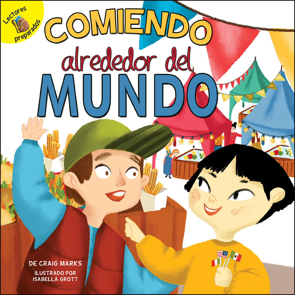 2018 - Comiendo alrededor del mundo (Eating Around the World) (Paperback)