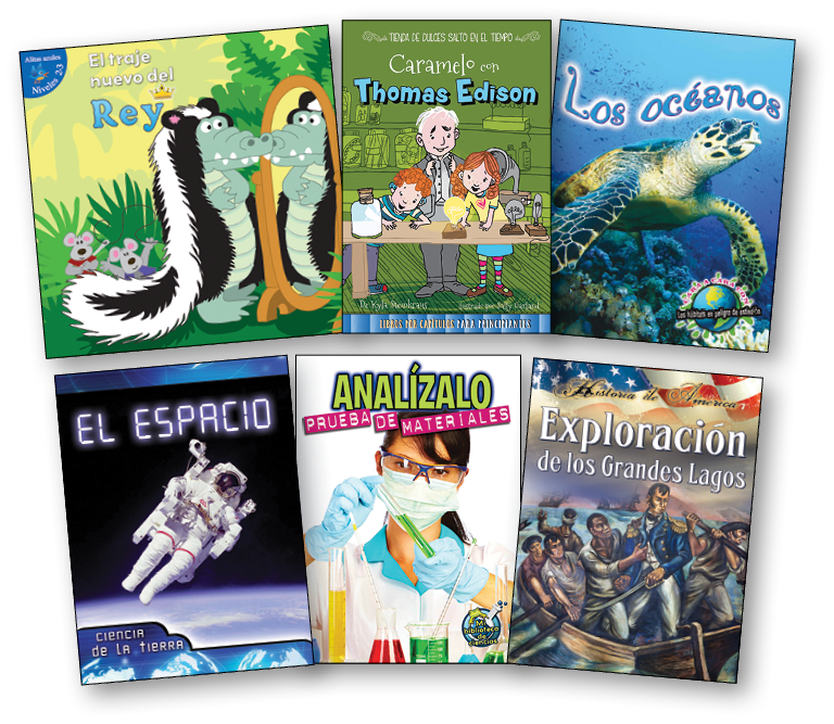 Spanish Leveled Books P-T