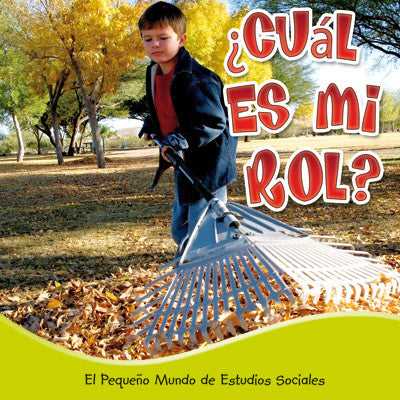 2015 - ¿Cuál es mi rol? (What's My Role?) (Hardback)