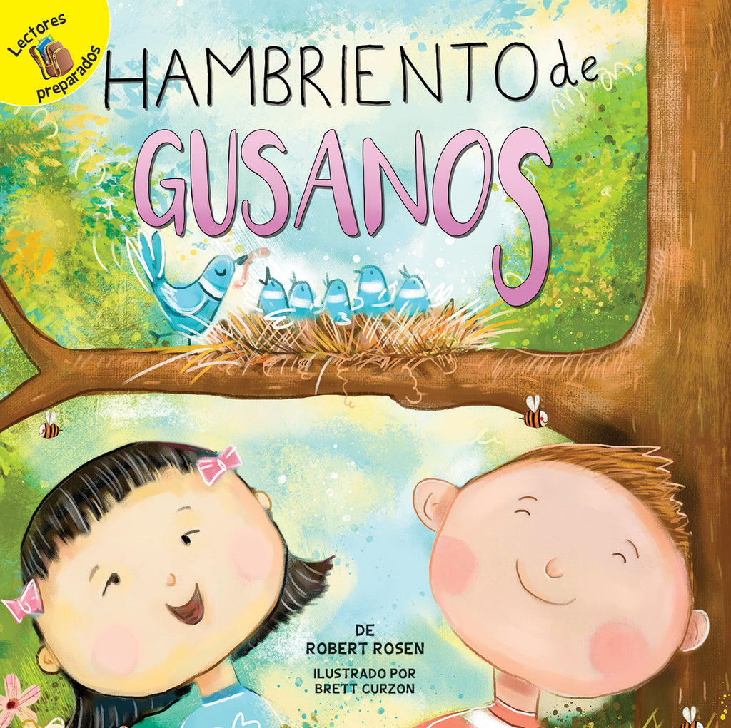 2018 - Hambriento de gusanos (Hungry For Worms) (Paperback)