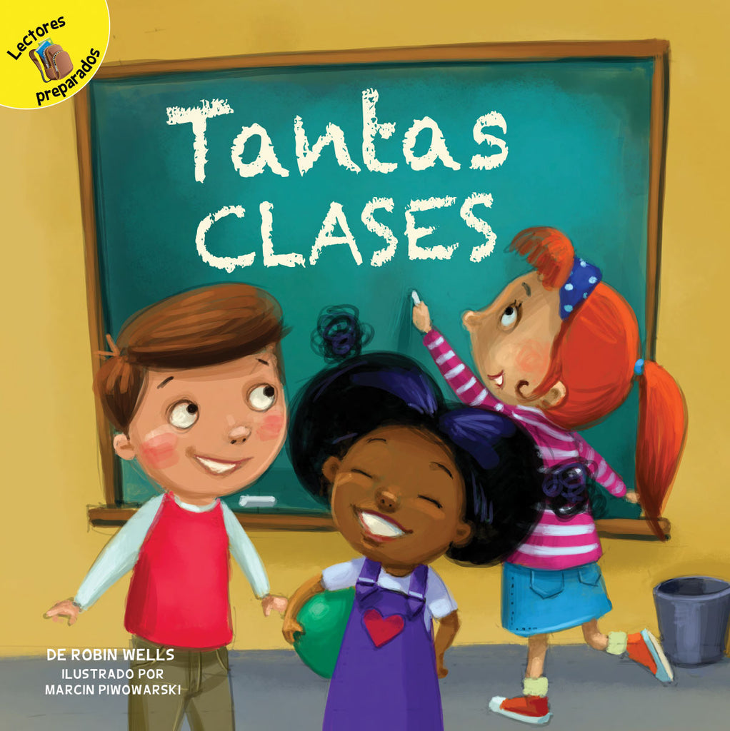 2018 - Tantas clases (So Many Classes) (Hardback)