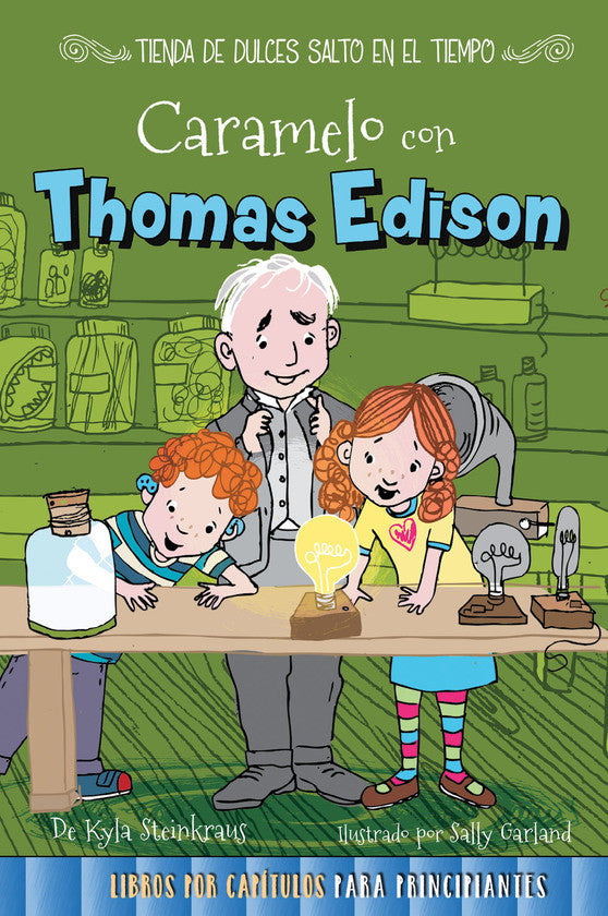 2017 - Caramelo con Thomas Edison (Toffee with Thomas Edison) (Paperback)