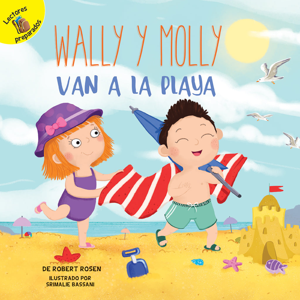 2018 - Wally y Molly van a la playa (Wally and Molly Go to the Beach) (Hardback)