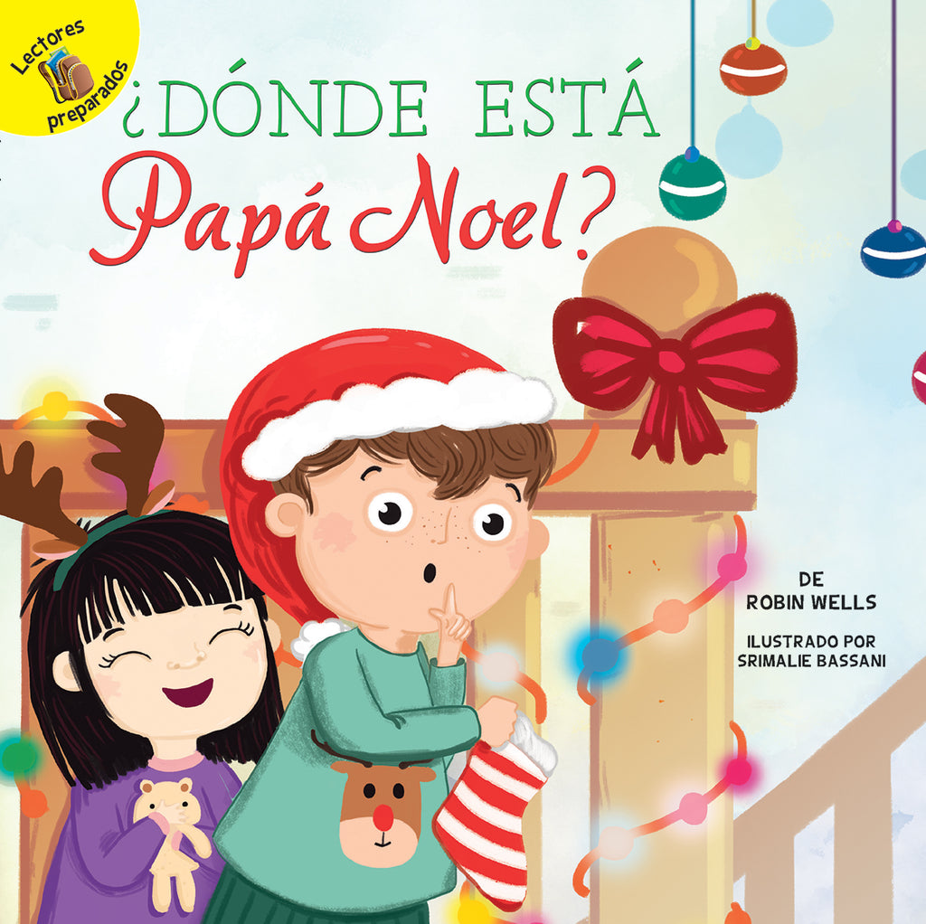 2018 - ¿Dónde está Papá Noel? (Where Is Santa?) (Hardback)