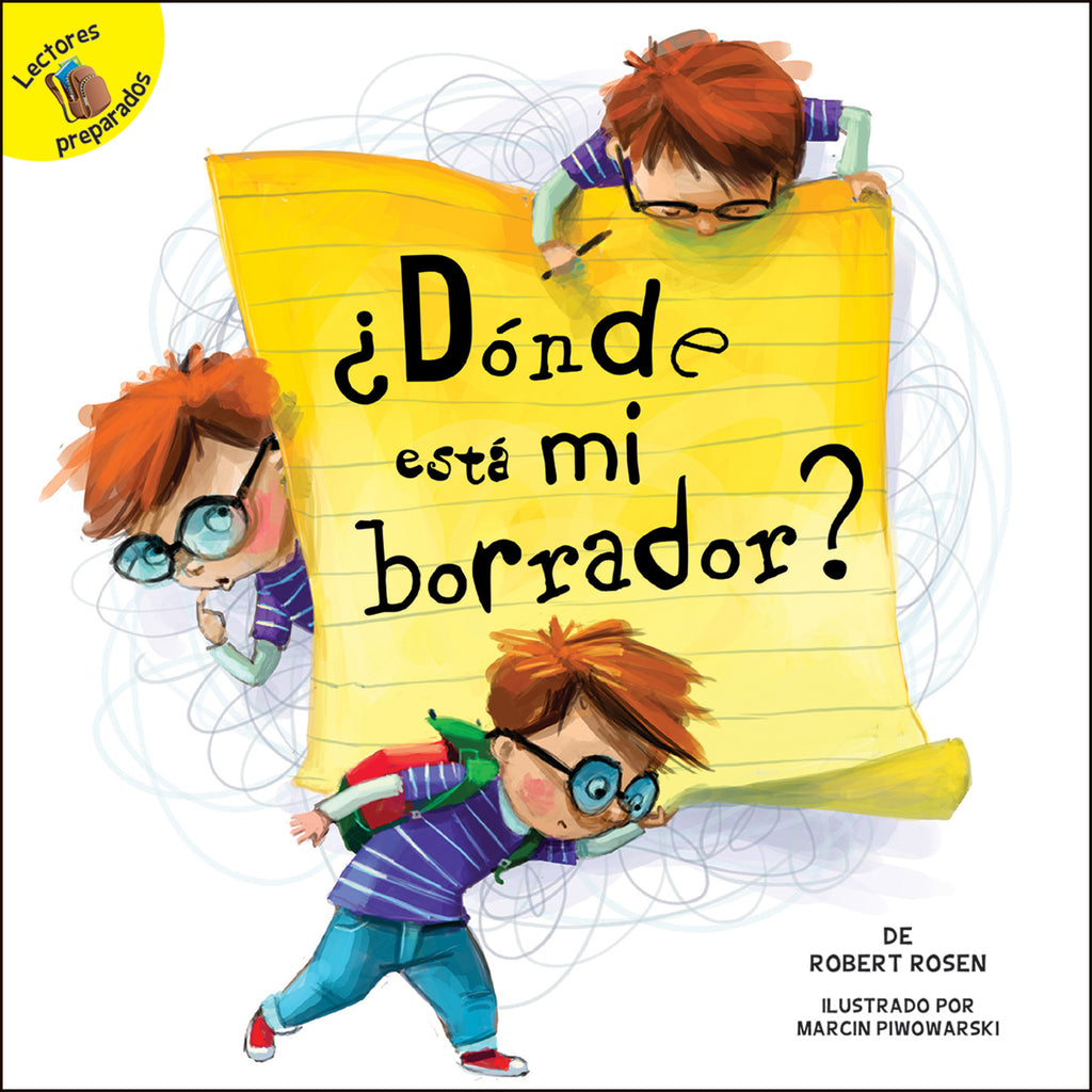 2018 - ¿Dónde está mi borrador? (Where is My Eraser?) (Hardback)