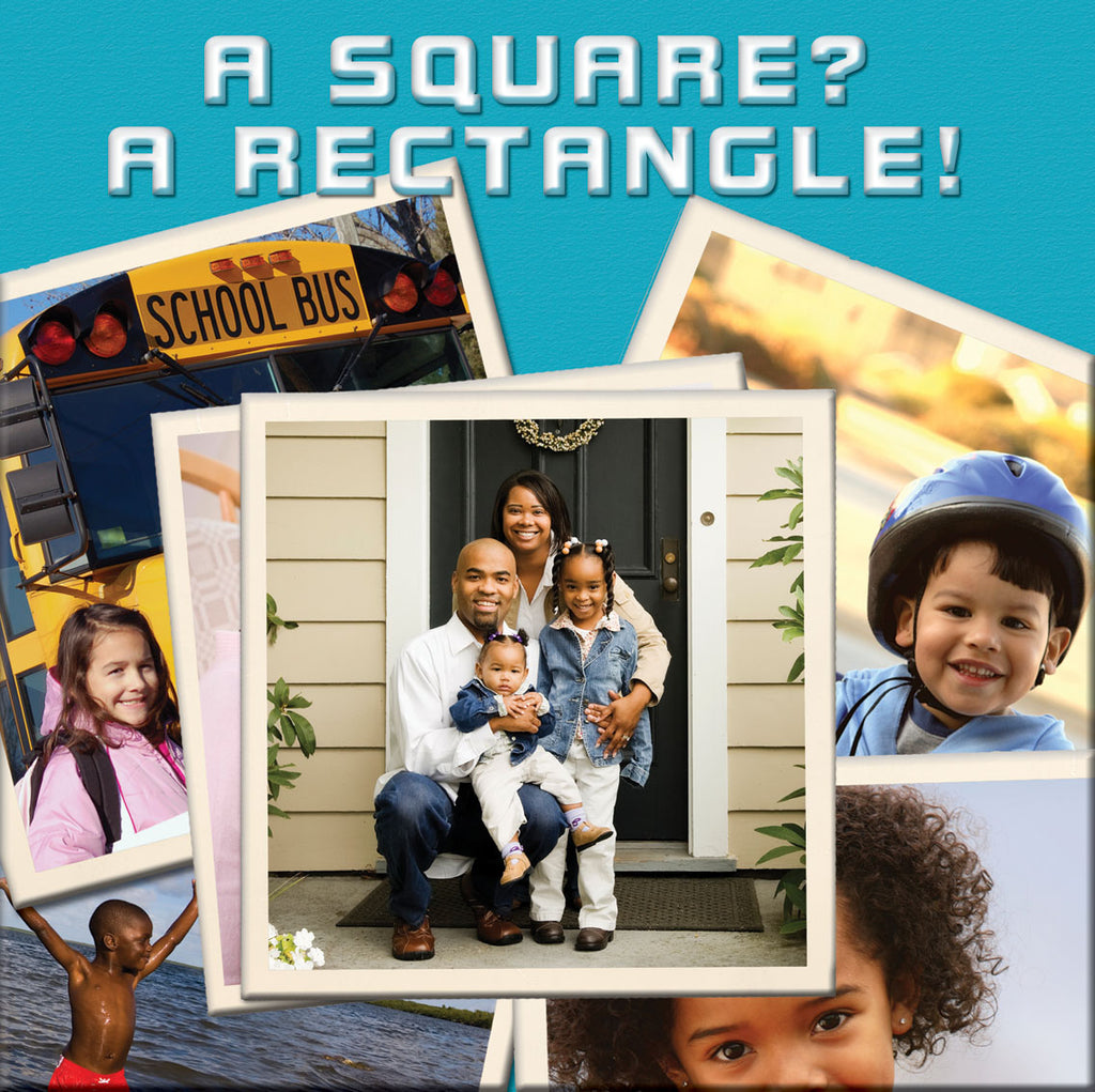 2019 - A Square? A Rectangle! (Board Book)