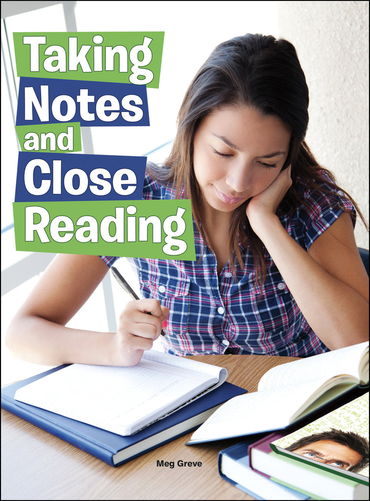2015 - Taking Notes and Close Reading (Hardback)