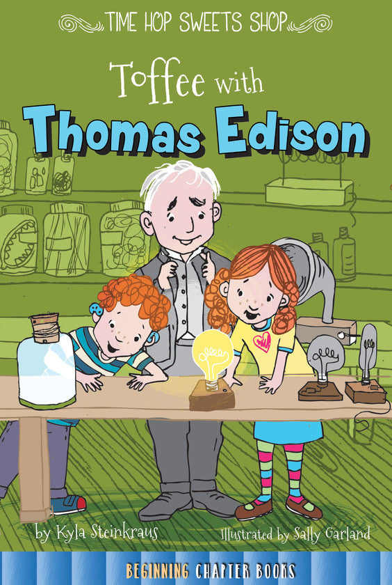 2016 - Toffee with Thomas Edison (Hardback)