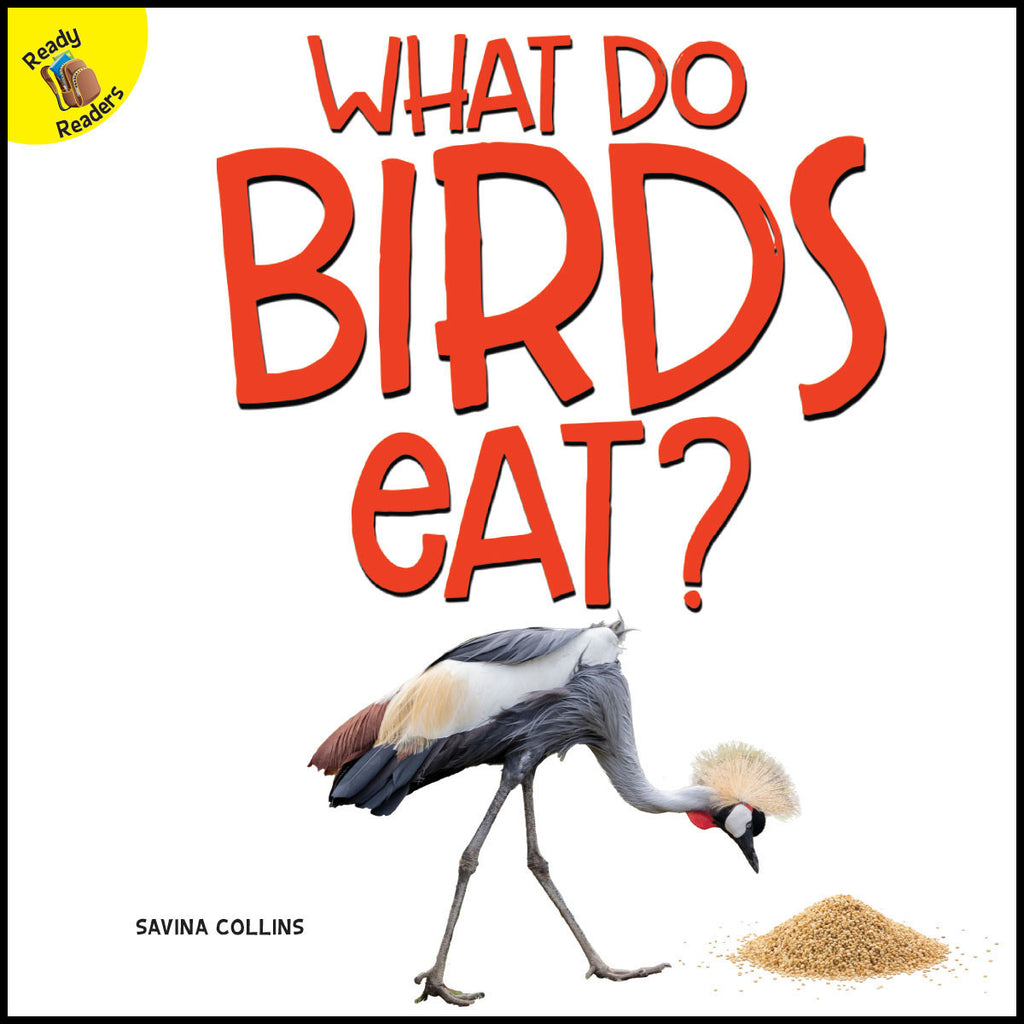2019 - What Do Birds Eat? (Paperback)