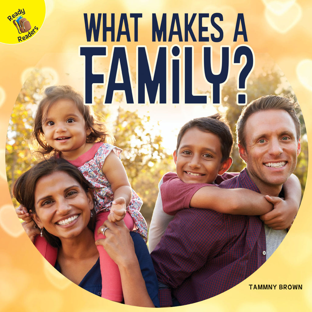 2019 - What Makes a Family? (Hardback)