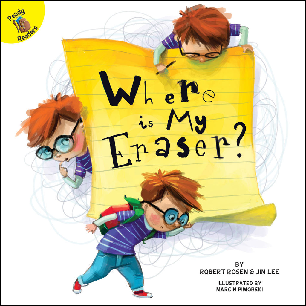2018 - Where is My Eraser? (Hardback)