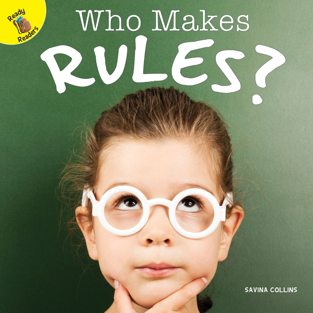 2019 - Who Makes Rules? (Paperback)