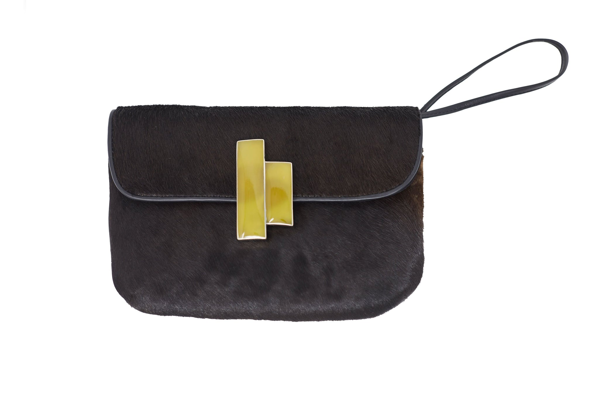 Black Nite Pony Clutch Wristlet