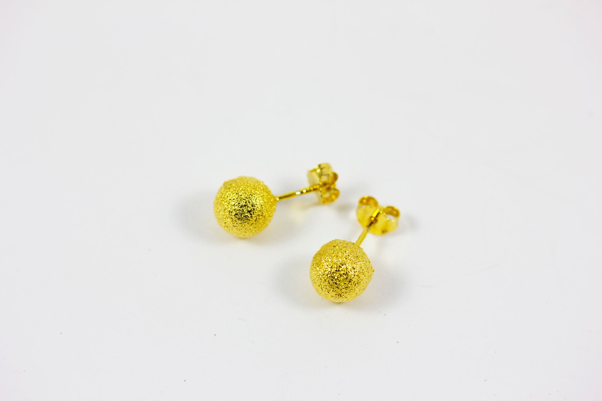 Gold Plated Silver Studs - Lesetta