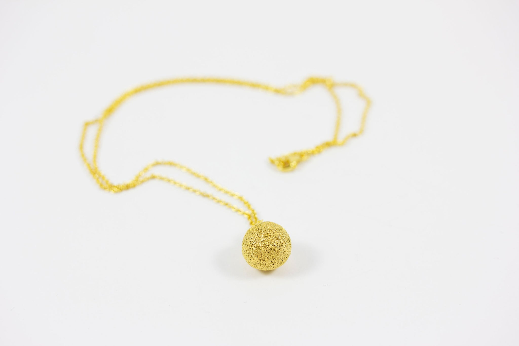 Gold Plated Silver Necklace - Lesetta