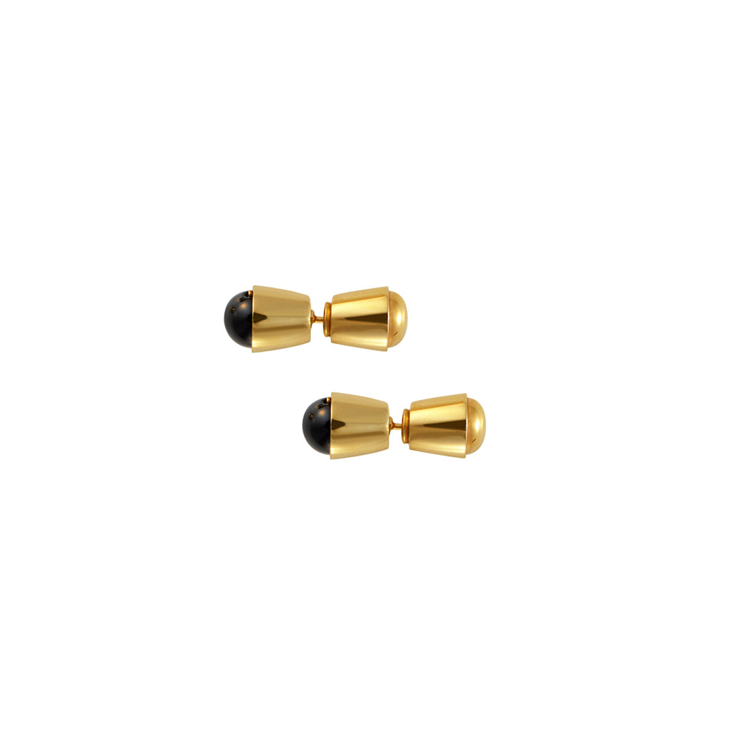 Gol Gol Studs - Gold Plated