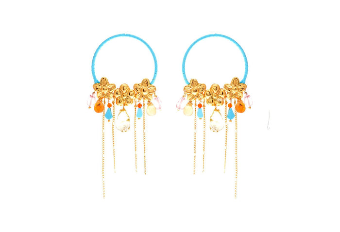 Jardin Cascada Sol Earrings, Valentina Rosenthal Jewelry, Found By Lesetta