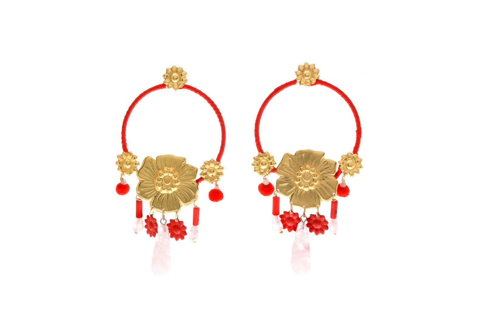 Jardin Secreto Earrings, Valentina Rosenthal Jewelry, Found By Lesetta