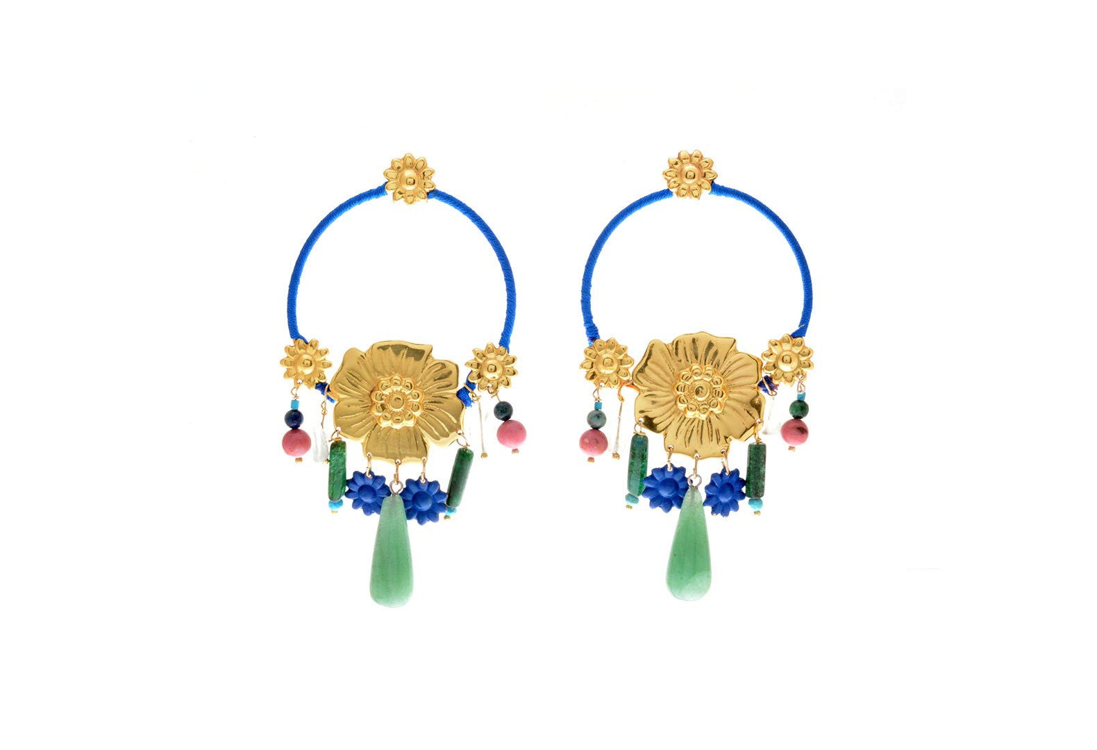Jardin Secreto Laguna Earrings, Valentina Rosenthal Jewelry, Found By Lesetta