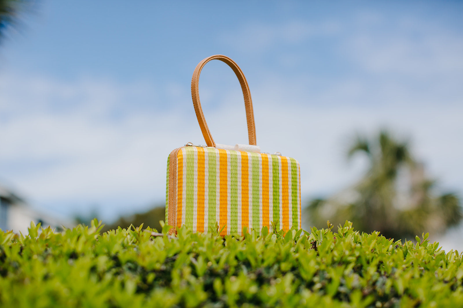 Candy Natural Fiber Handbags