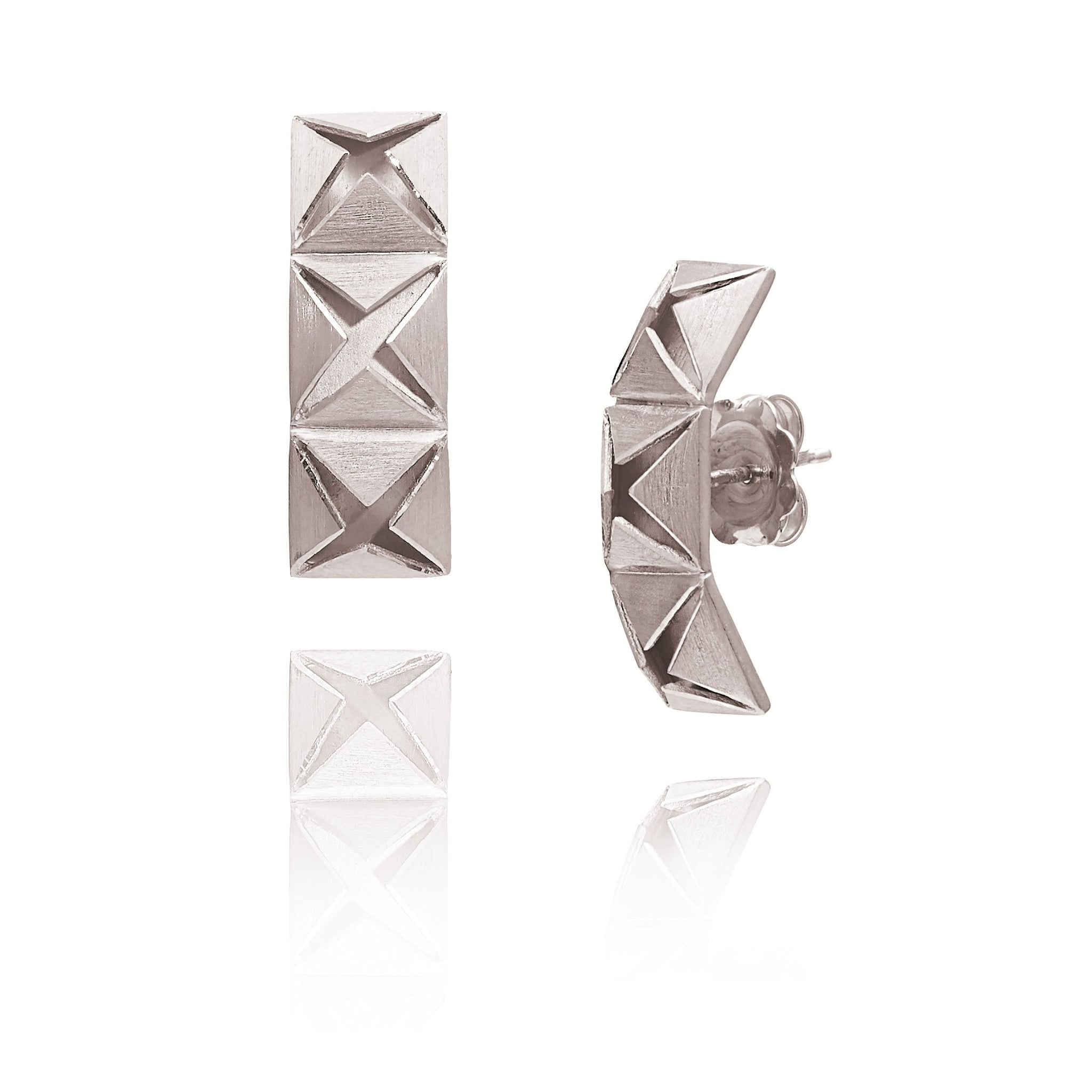 Origami Star Earrings - Lesetta