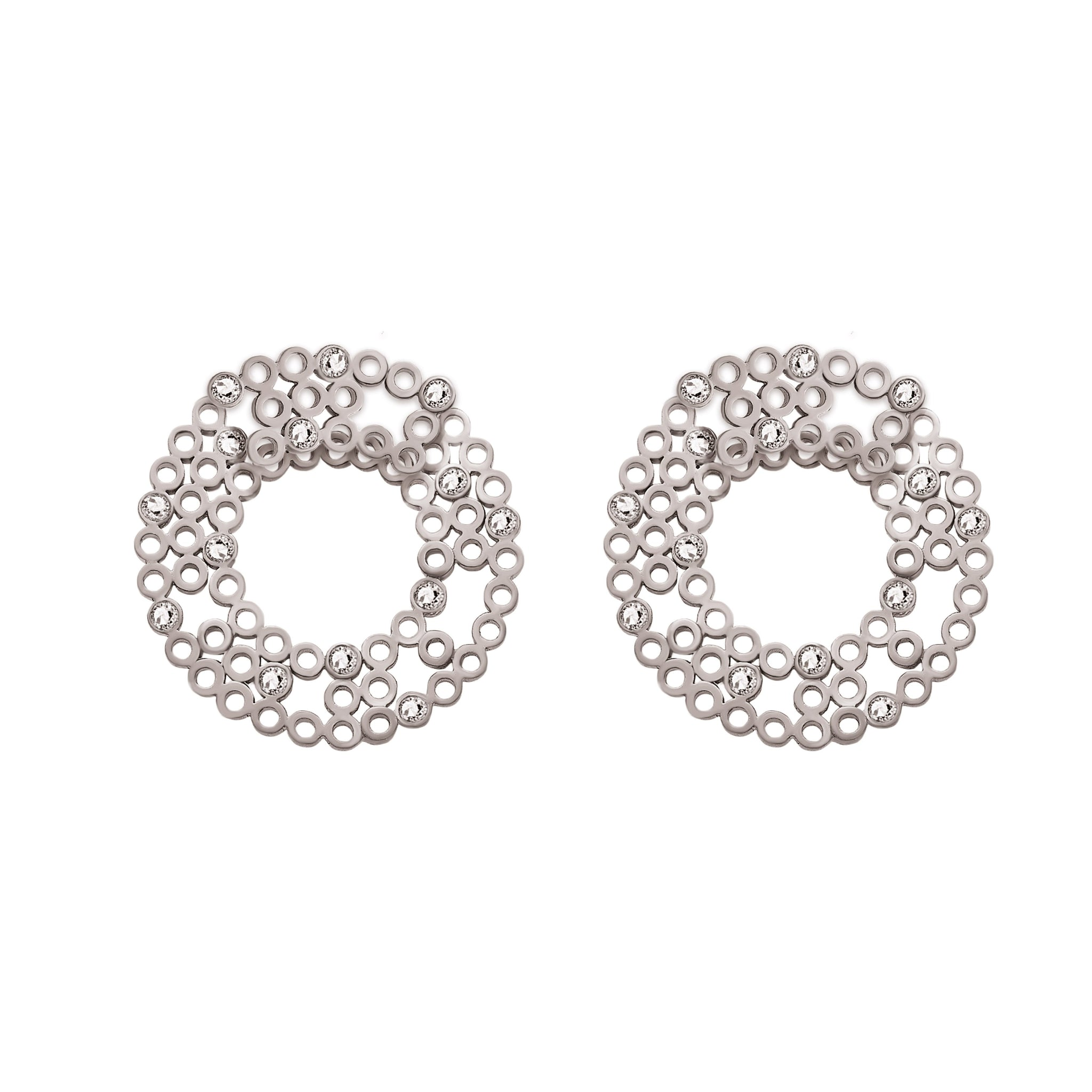 "Tube ""Jacket"" Earrings - Lesetta"
