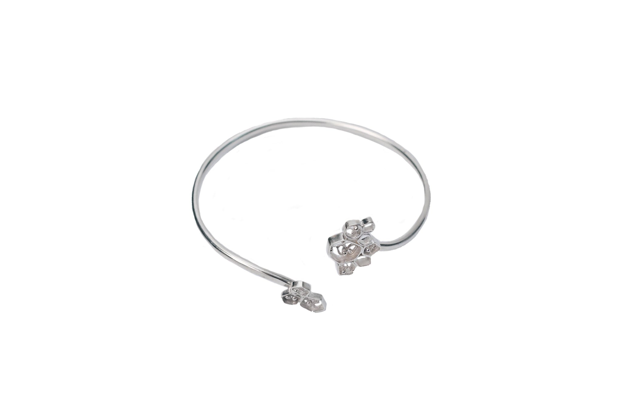 Cells Silver Bracelet, Valentina Caprini, Found By Lesetta
