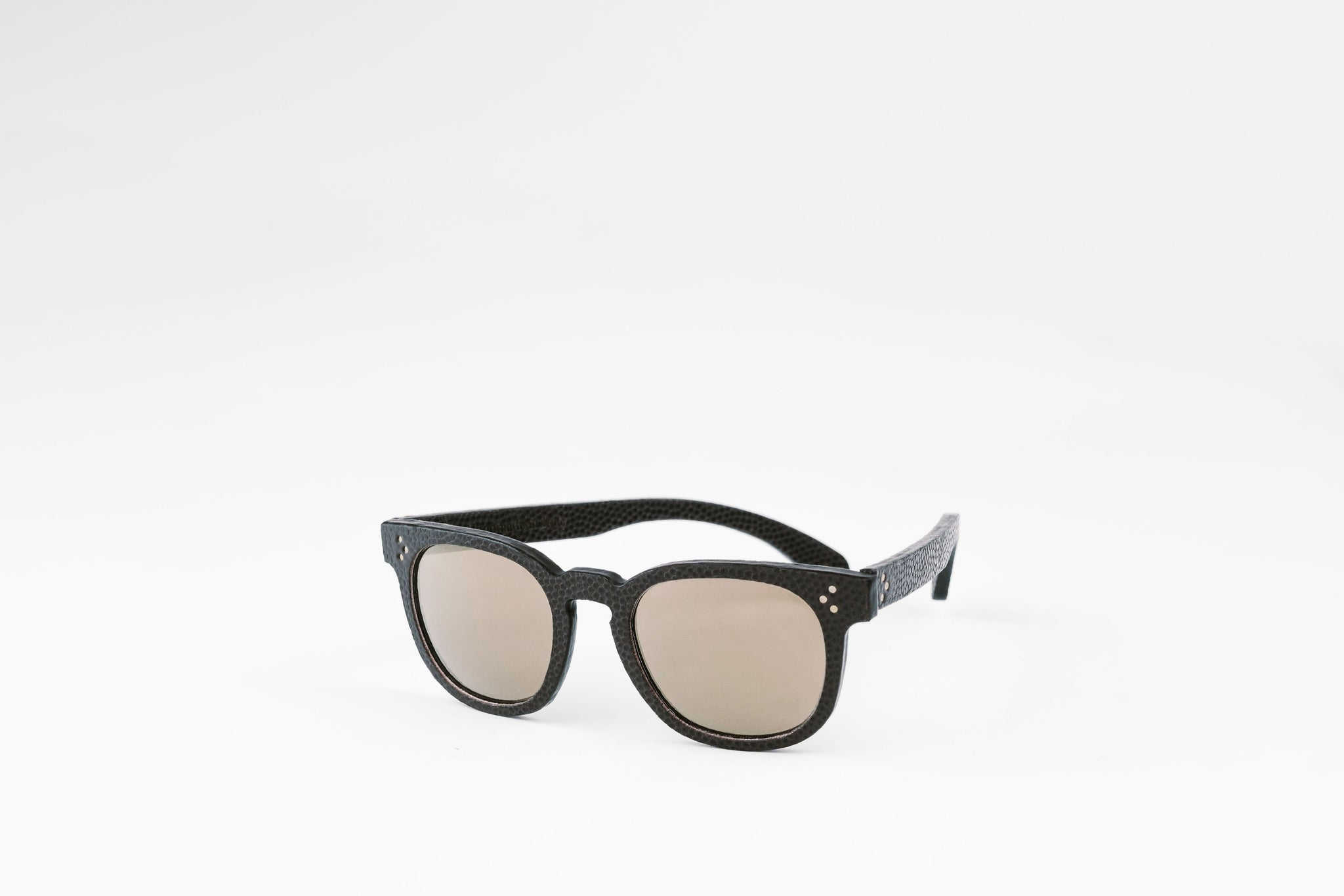 Woody Leather Sunglasses