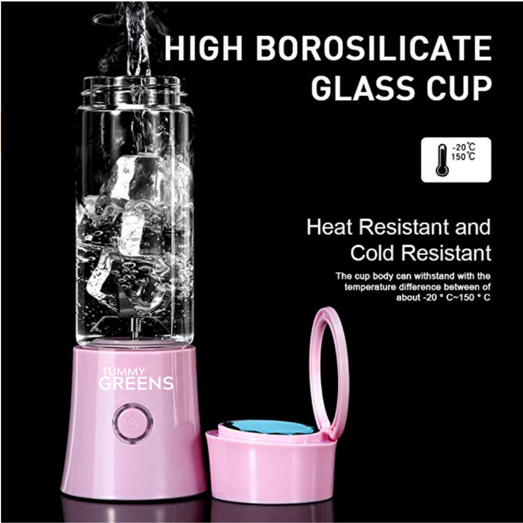 Portable Glass Blender (16 oz)