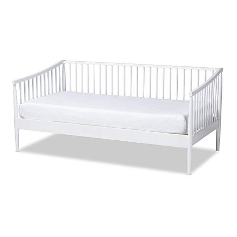 Baxton Studio Daybed, Single, White