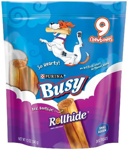Busy Rollhide 5x12 OZ SMALL/MEDIUM POUCH
