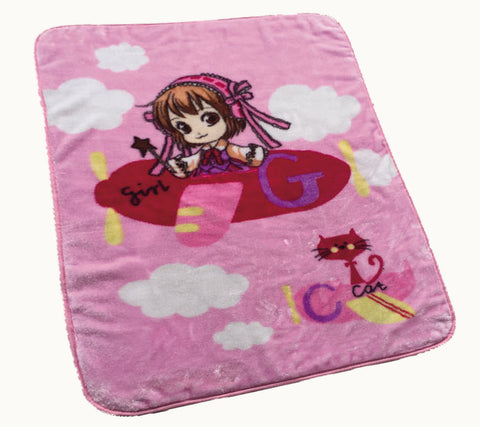HAPPY blanket, 879# pink