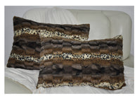 LUCY'S Faux Fur Plush Pillow Cases, APC-608