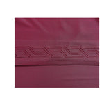 BELLAHOME 75g 4pcs bedsheet set, luxury embroidery, BSEM17 BURGUNDY