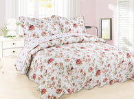 GARDENHOME 3pcs quilt set, without patchwork, QTP-26
