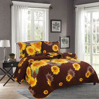 BELLA HOME, 3 PCS QUILT REVERSIBLE SET, QTP-U28