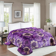 TOWNHOUSE 1ply embossing cloud blanket, TCB03 PURPLE