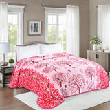 TOWNHOUSE 1ply embossing cloud blanket, TCB04 PINK