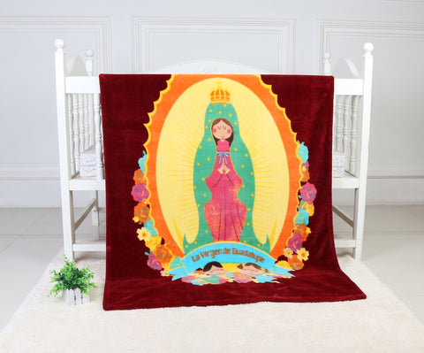 OSAKA super soft blanket, TSB-07 BURGUNDY