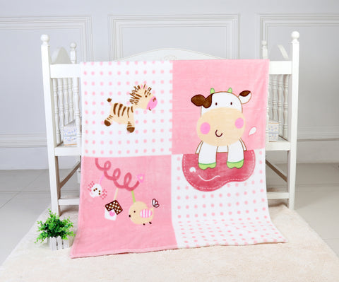 OSAKA Super Soft  Blanket, TSB-08 Pink