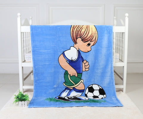 OSAKA super soft blanket, TSB-851 BLUE